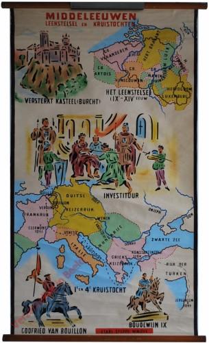 Middeleeuwen, Leenstelsel en kruistochten